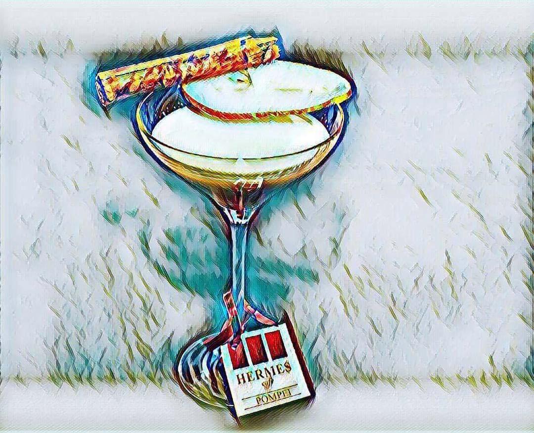 cocktail hermes cafe