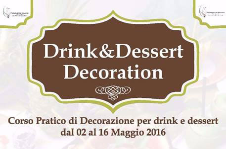 Drink & Dessert Decoration